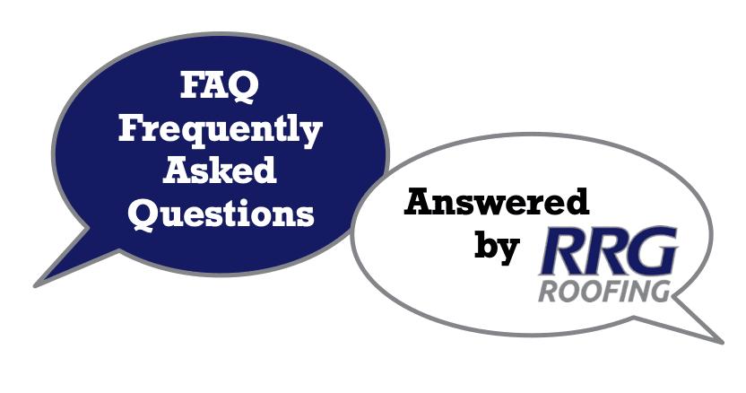 Roof Repair in Dahlonega GA FAQ answered by RRG